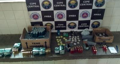 PM desmonta comércio ilegal de munições em Ituaçu