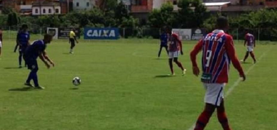 [Sub-20: Bahia é goleado pelo Atlântico em estreia do Campeonato Baiano ]