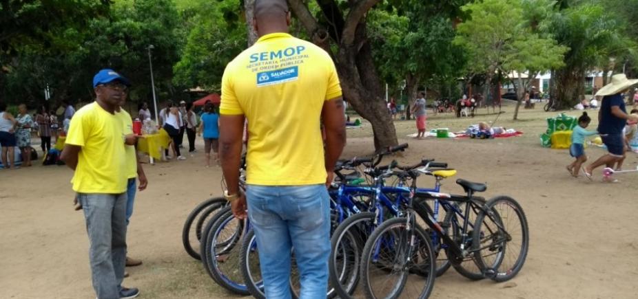 [Prefeitura apreende bicicletas irregulares no Parque da Cidade]