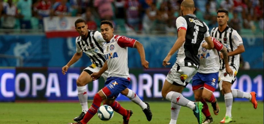 [Jogo do Bahia contra Botafogo-PB tem horário alterado]