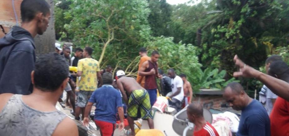 [Desabamento em Pituaçu deixa um morto, confirma prefeitura ]