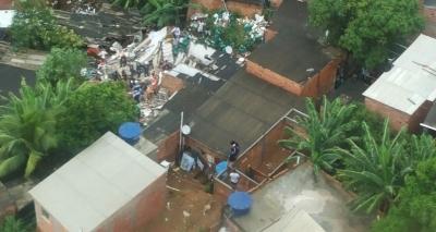 Dez famílias de Pituaçu receberão auxílios após tragédia que matou quatro