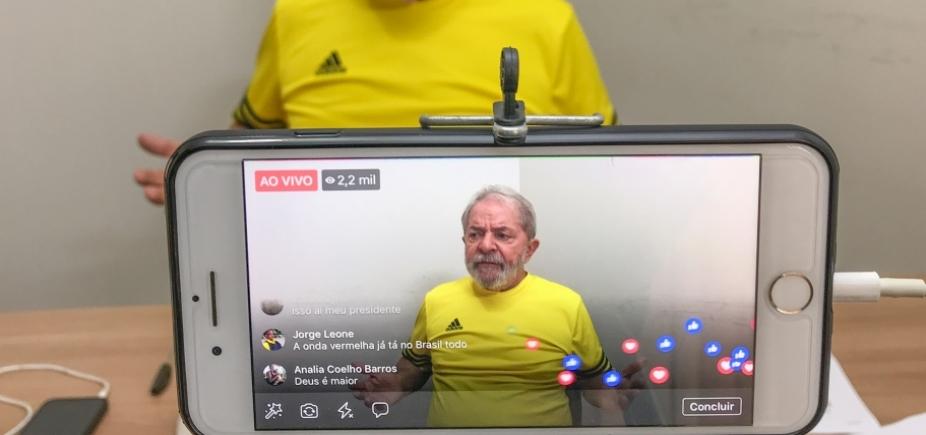 ['Estou pronto para ser preso', afirma Lula ]