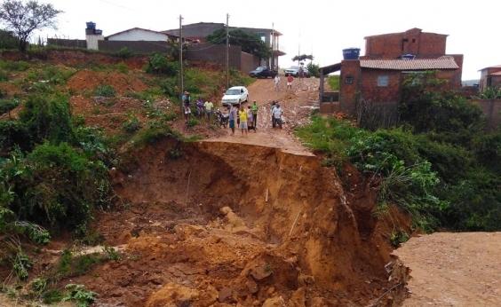 Após fortes chuvas, campanha recolhe donativos para famílias em Palmeiras