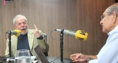 ʹEu não vou ser presoʹ, afirma Lula