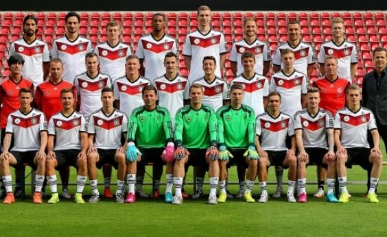 Alemanha lidera ranking da Fifa e Brasil está em 2º lugar