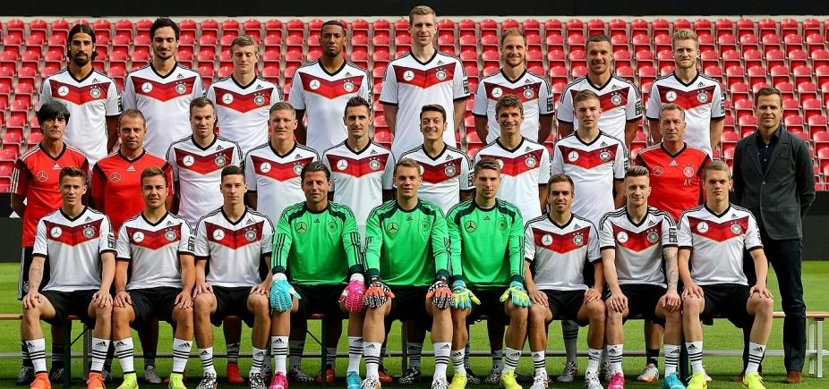 [Alemanha lidera ranking da Fifa e Brasil está em 2º lugar]