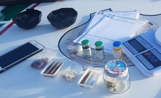 Traficantes presos usavam marcas famosas em catálogo de drogas