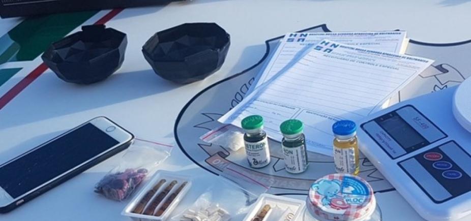 [Traficantes presos usavam marcas famosas em catálogo de drogas]