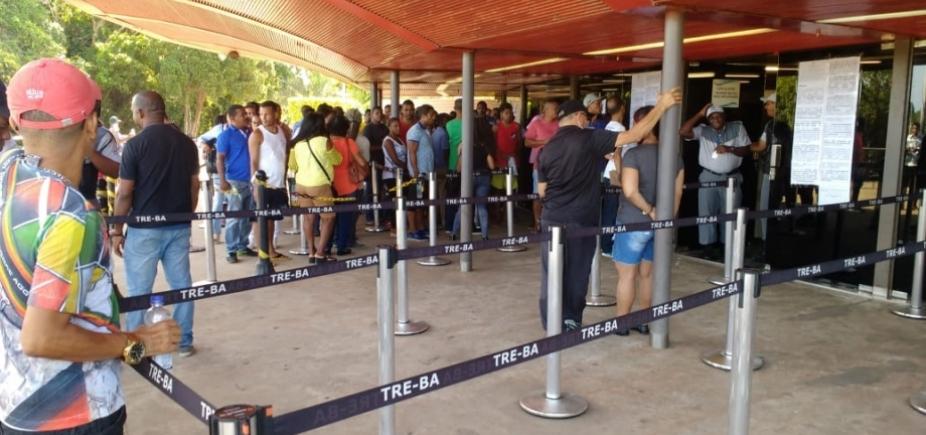 [Em 10 dias, quase 50 mil fizeram biometria em Salvador, diz TRE-BA ]