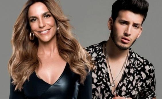 Em licença maternidade das gêmeas, Ivete Sangalo grava com cantor colombiano