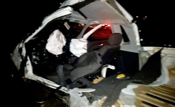 Caminhonetes colidem e dois morrem na BA-046, em Santo Antônio de Jesus