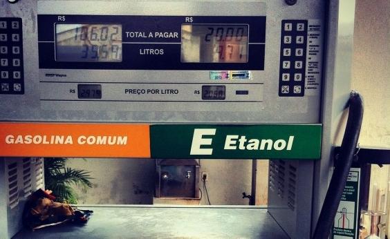 Etanol aumenta em 19 estados e no DF