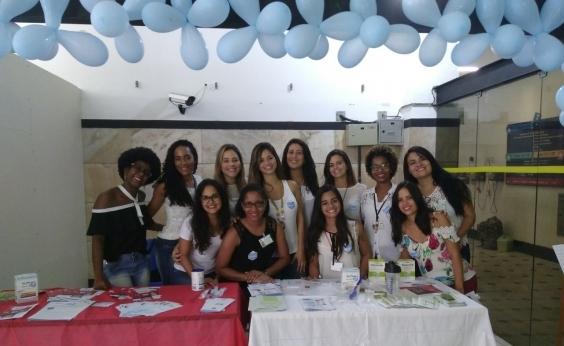 Ação no Hospital Edgard Santos lembra importância de prevenir a disfagia