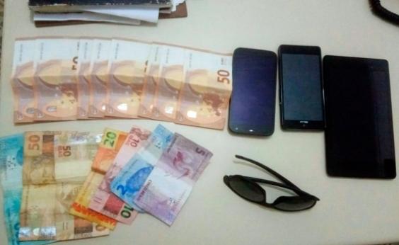 Trio é preso por invadir e roubar casa de turistas argentinos em Boipeba