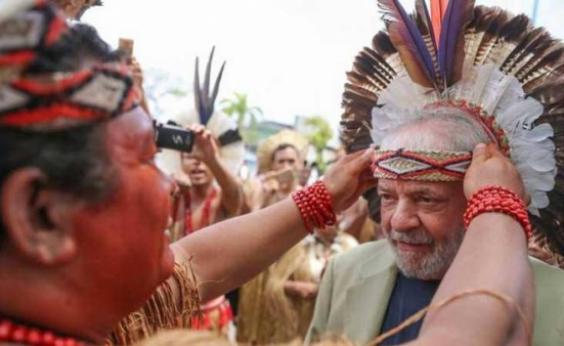 Contra fantasma da prisão da Lava Jato, índios 'fecham corpo' de Lula