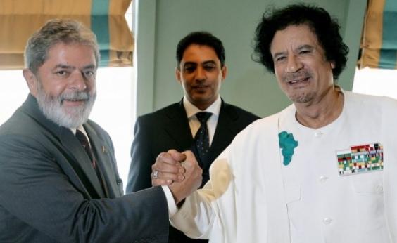 Kadafi teria financiado Lula e comprado apoio de líderes africanos