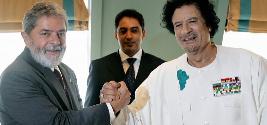 [Kadafi teria financiado Lula e comprado apoio de líderes africanos]
