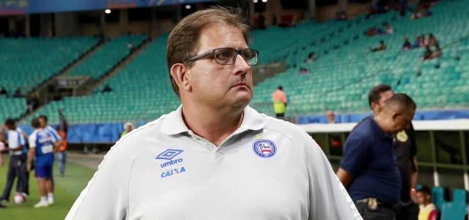 [Guto crê em melhora do Bahia e nega que pedirá demissão: ʹAcredito no que estamos fazendoʹ]