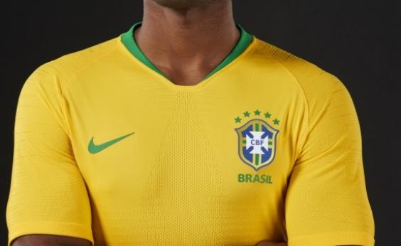Brasil lança oficialmente uniformes da Copa; veja