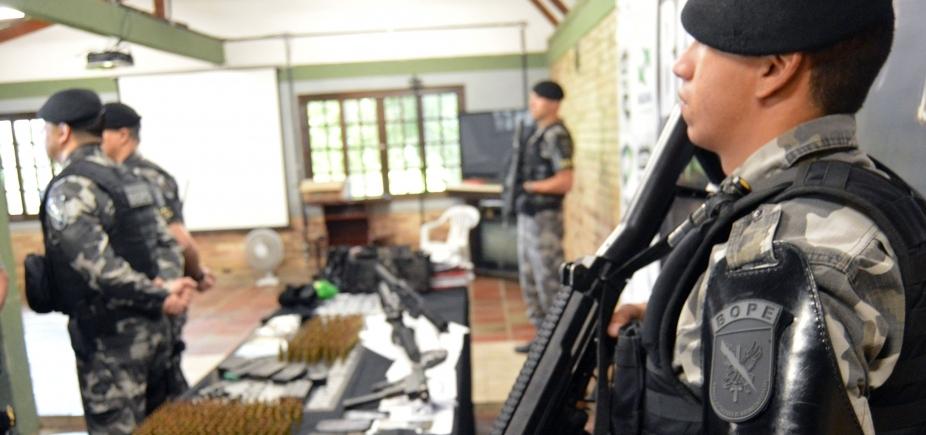 [Bope é alvo de vistoria do Exército no Rio de Janeiro ]
