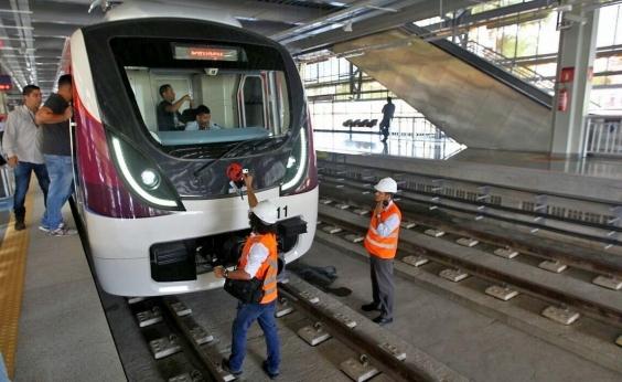 Metrô volta a funcionar após apagão em Salvador