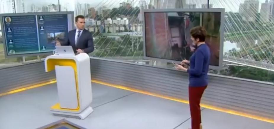 [Azedou! Apresentadores da Globo se estranham durante jornal; vídeo]