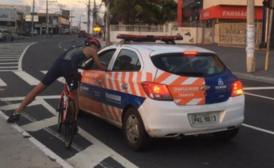 Transalvador vai apurar confusão entre agente e ciclistas
