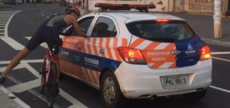 [Transalvador vai apurar confusão entre agente e ciclistas]