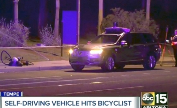 Vídeo mostra acidente de carro autônomo da Uber com morte
