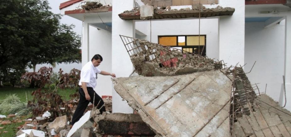 [Terremoto de magnitude 5,4 atinge a Costa Rica]