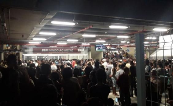 Após apagão, Rui descarta uso de gerador no metrô: ʹNão tem comoʹ