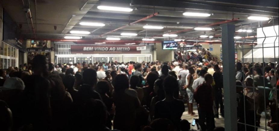[Após apagão, Rui descarta uso de gerador no metrô: ʹNão tem comoʹ]
