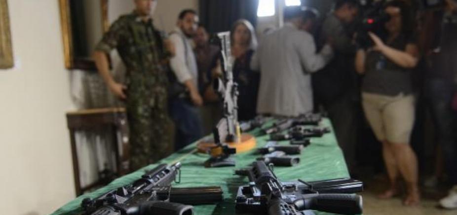 [Ex-militar do Exército é preso em operação contra o tráfico de armas em Brasília ]