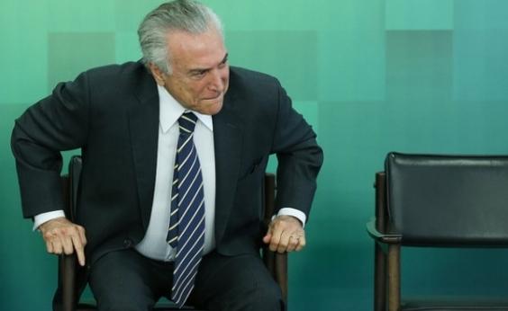 Em Xique-Xique, Temer diz que apoia derrubada de veto ao Refis das micro e pequenas empresas