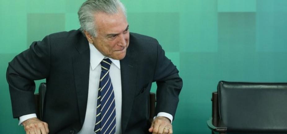 [Em Xique-Xique, Temer diz que apoia derrubada de veto ao Refis das micro e pequenas empresas]