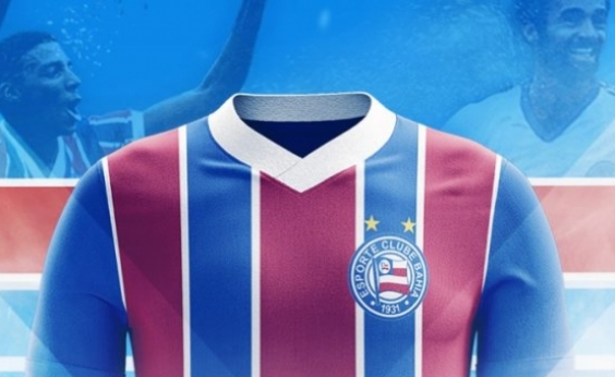 Bahia lança concurso para torcida criar e escolher uniformes do clube