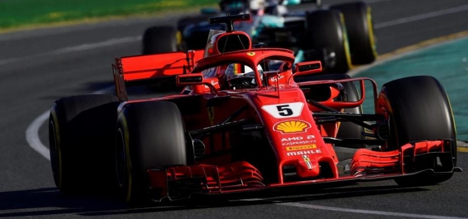 [Sebastian Vettel vence primeira corrida do ano na Fórmula 1]