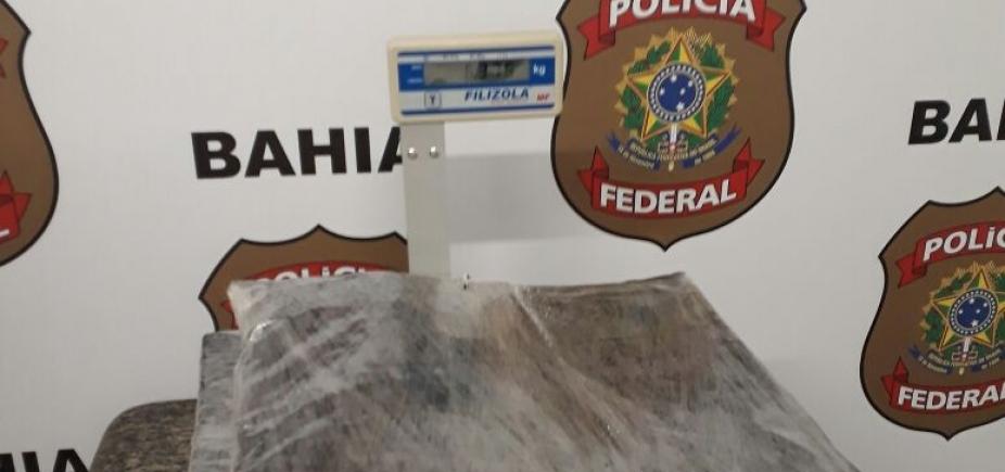 [PF prende casal de brasileiros com 6 quilos de cocaína no Aeroporto de Salvador ]