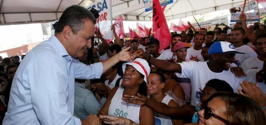 [ʹQuero elevar a Atenção Básica de Salvador, que só tem 32%ʹ, diz Rui Costa]