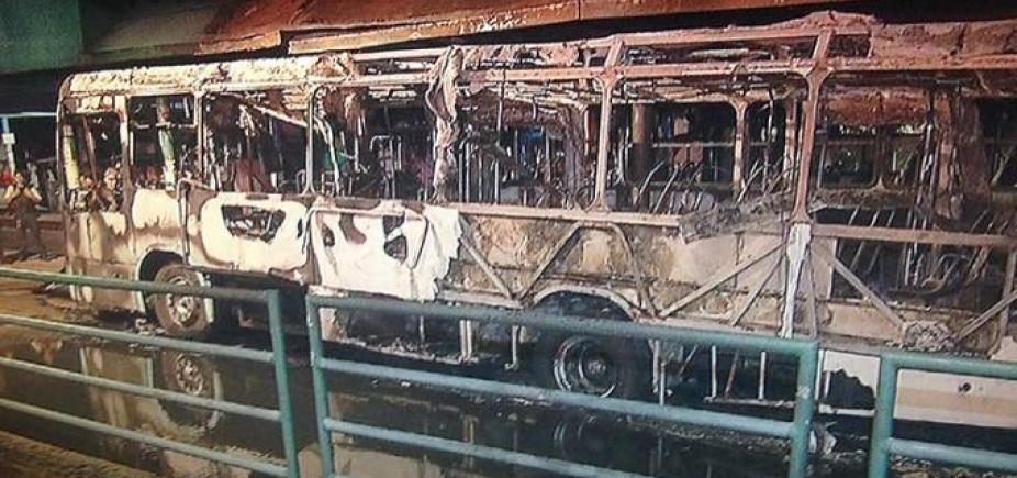 [Três morrem e cinco ônibus são incendiados durante atentados em Fortaleza]