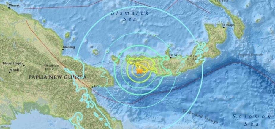 [Papua Nova Guiné sofre terremoto de 6,6 graus]