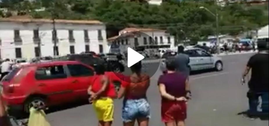 [Ator da Globo sofre acidente durante gravação de novela em Salvador; veja vídeo]