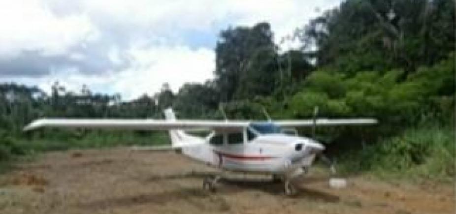 [Polícia Federal apreende avião carregado com mais de 300 kg de cocaína no Pará]