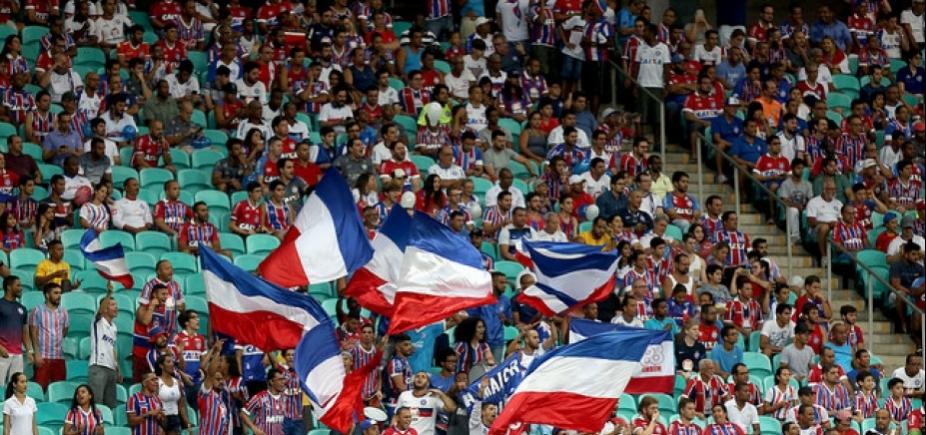 [Bahia anuncia promoção de ingressos a R$ 10 para Ba-Vi na Fonte Nova]