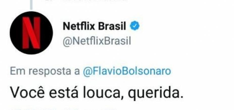 [ʹVocê está louca, queridaʹ, diz Netflix a filho de Bolsonaro sobre série com pai]