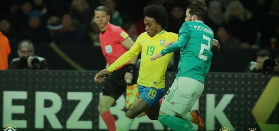 [Brasil vence a Alemanha por 1 a 0 ]