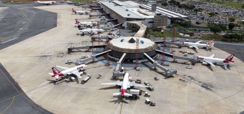 [Mais de 1 milhão de passageiros vão transitar em 14 aeroportos no feriado]