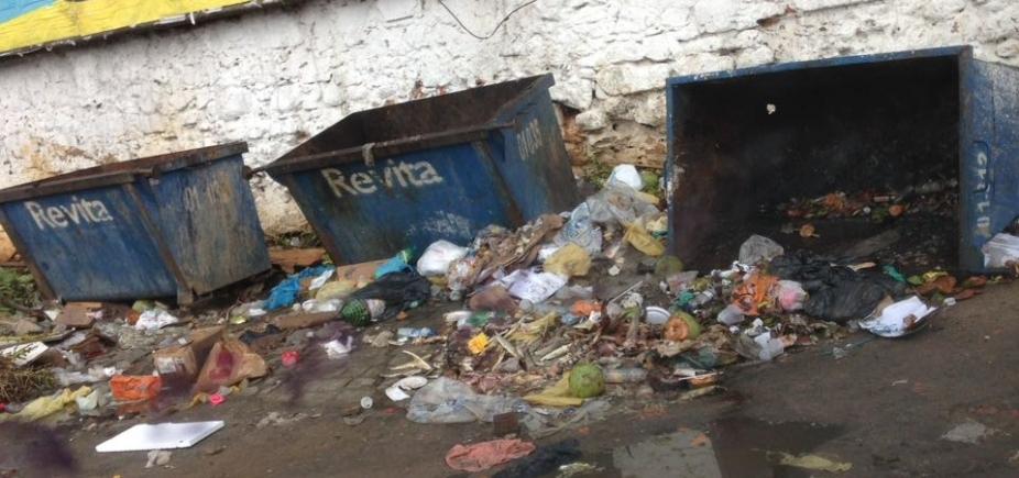 [Lixo espalhado no entorno do Mercado Popular, na Cidade Baixa, indigna moradores ]