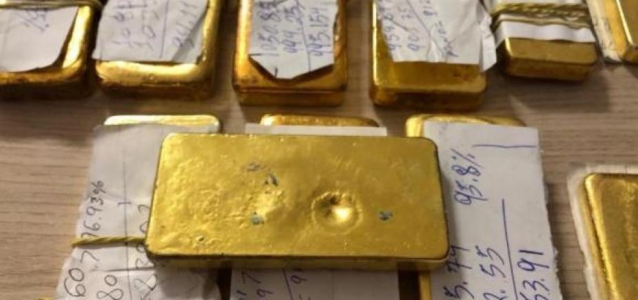 [Polícia Federal apreende R$ 1,3 milhão em barras de ouro em Roraima]